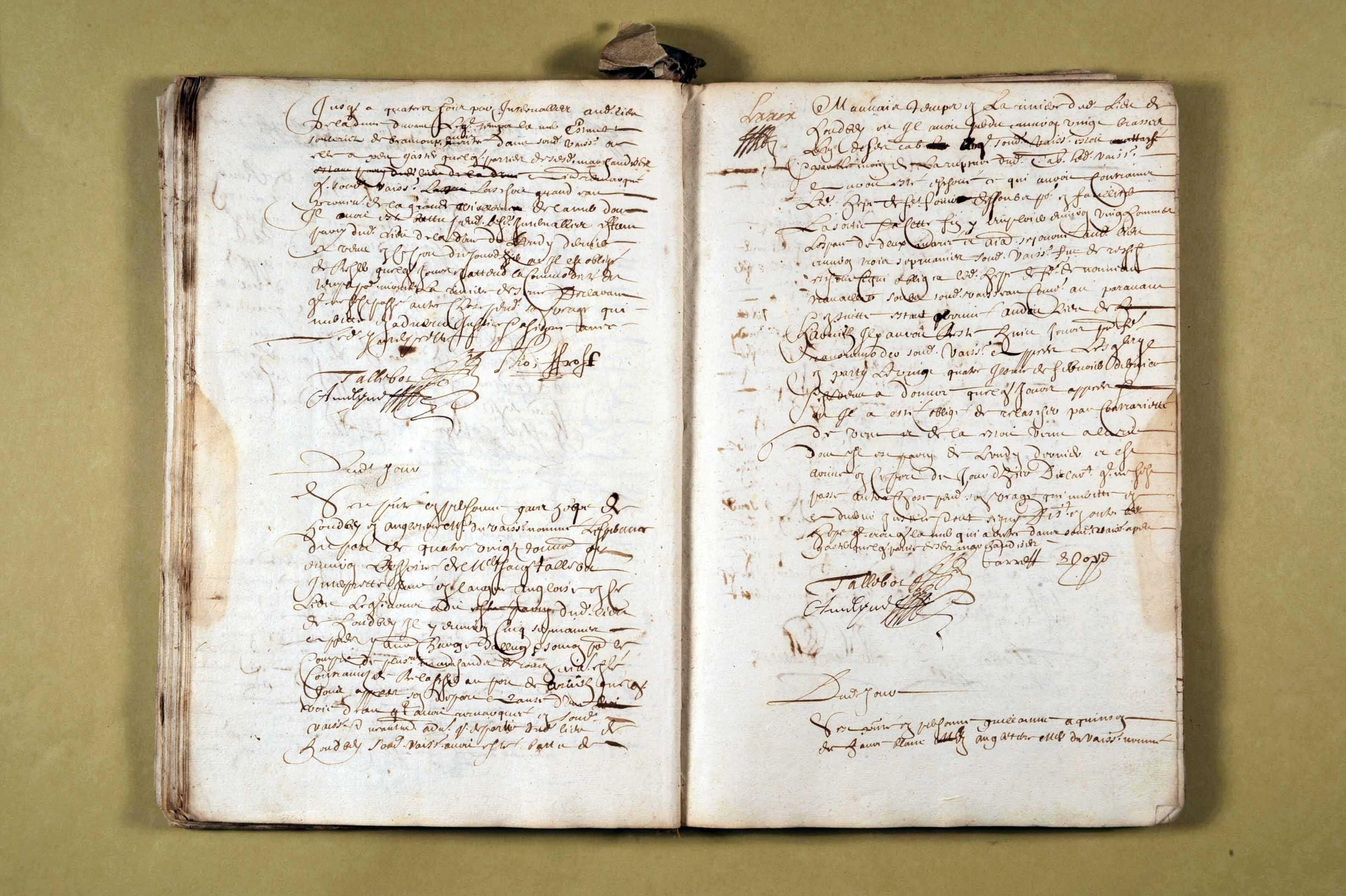 14 avril 1667-20 novembre 1668