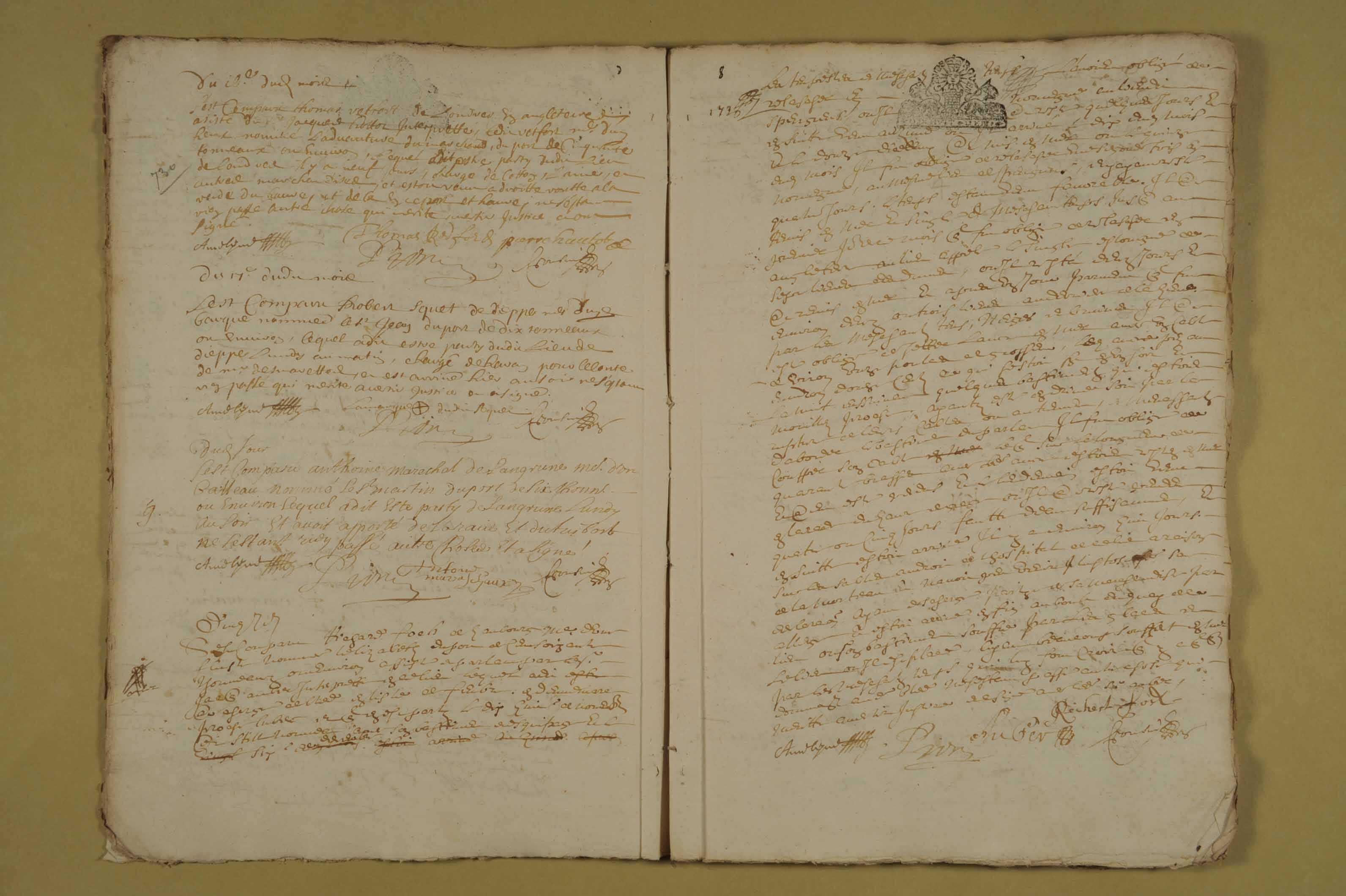 18 décembre 1681-22 mars 1688