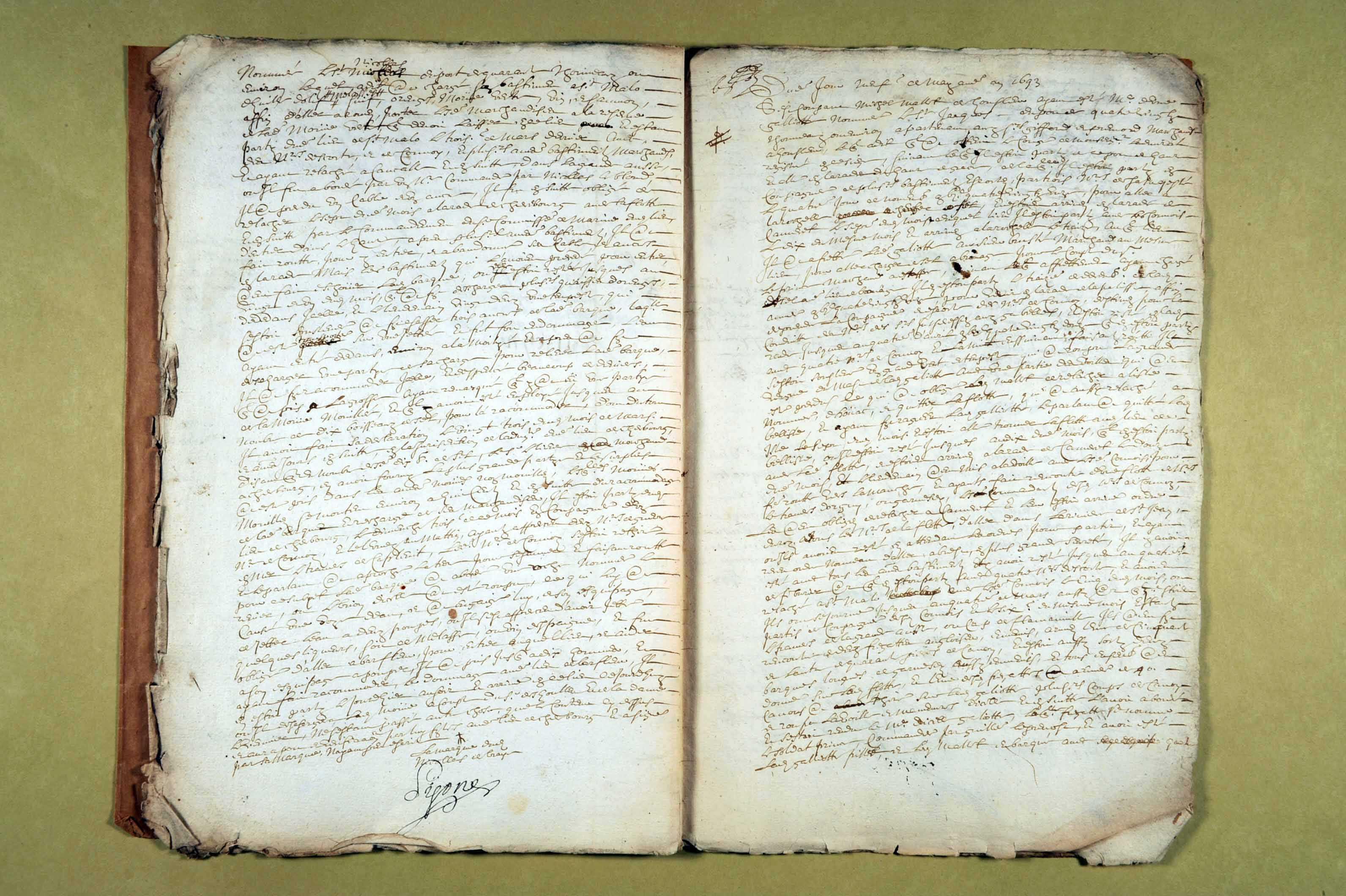 6 avril-16 mai 1693