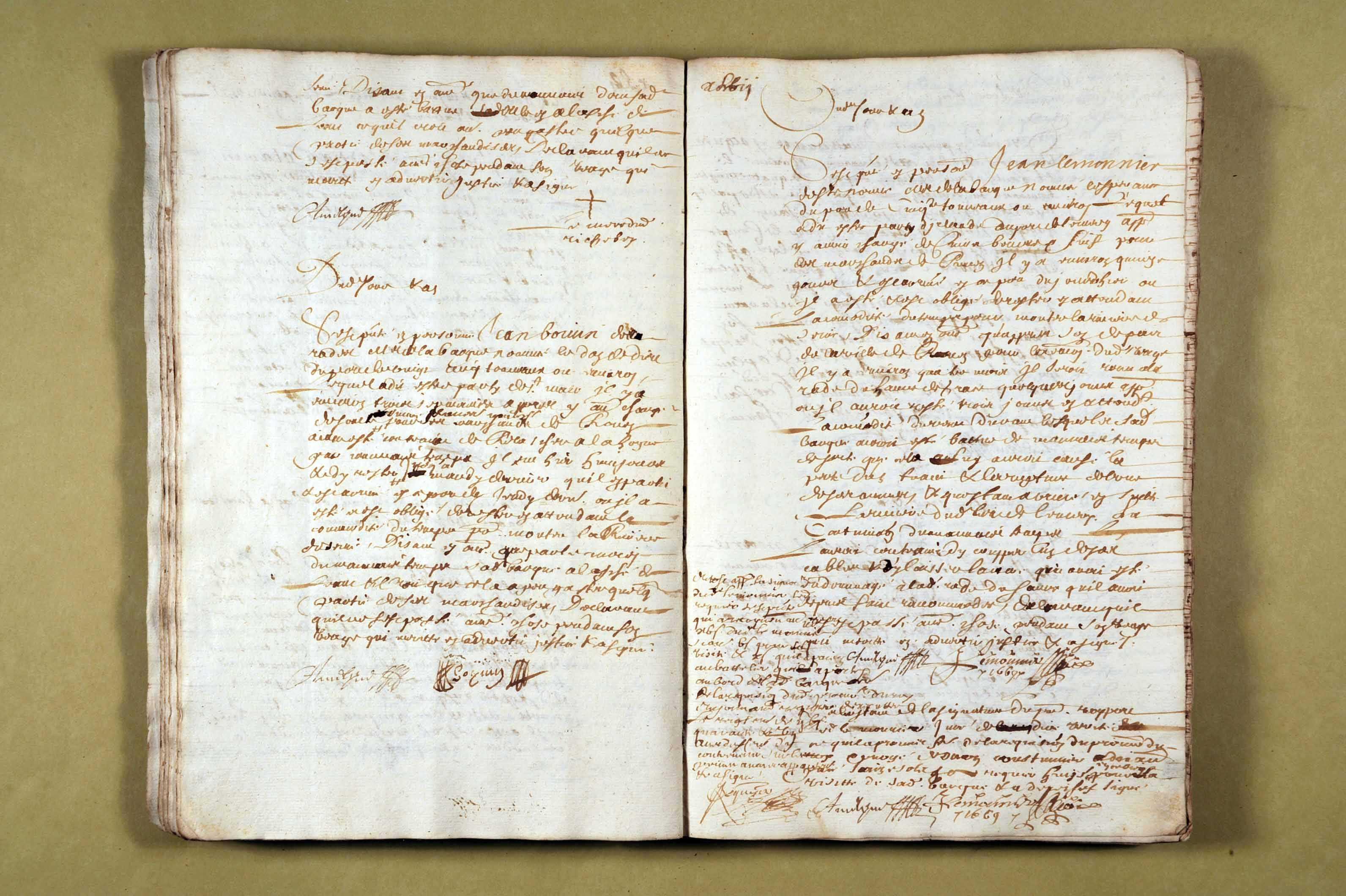 26 novembre 1668-23 octobre 1670