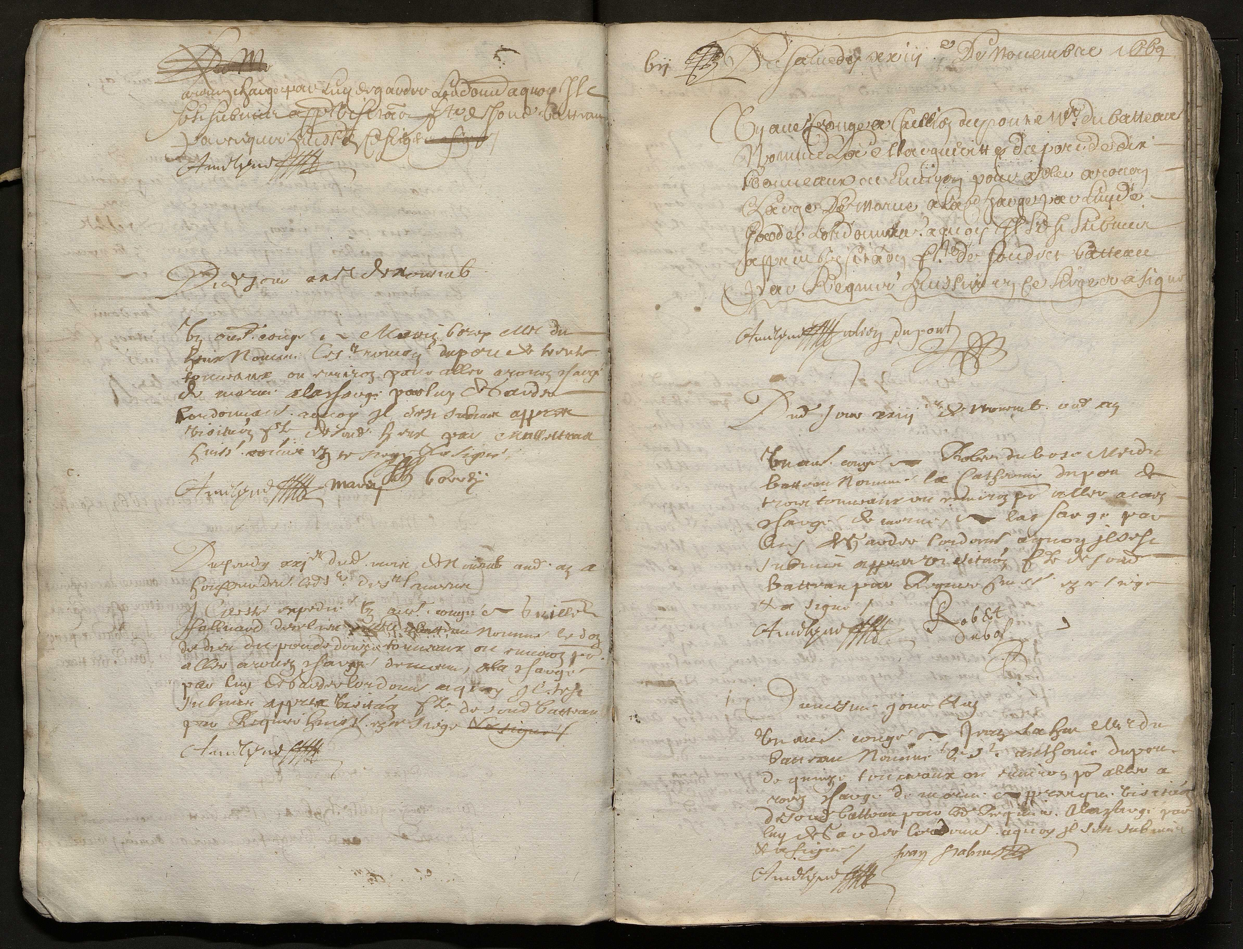 8 septembre 1669-4 janvier 1673
