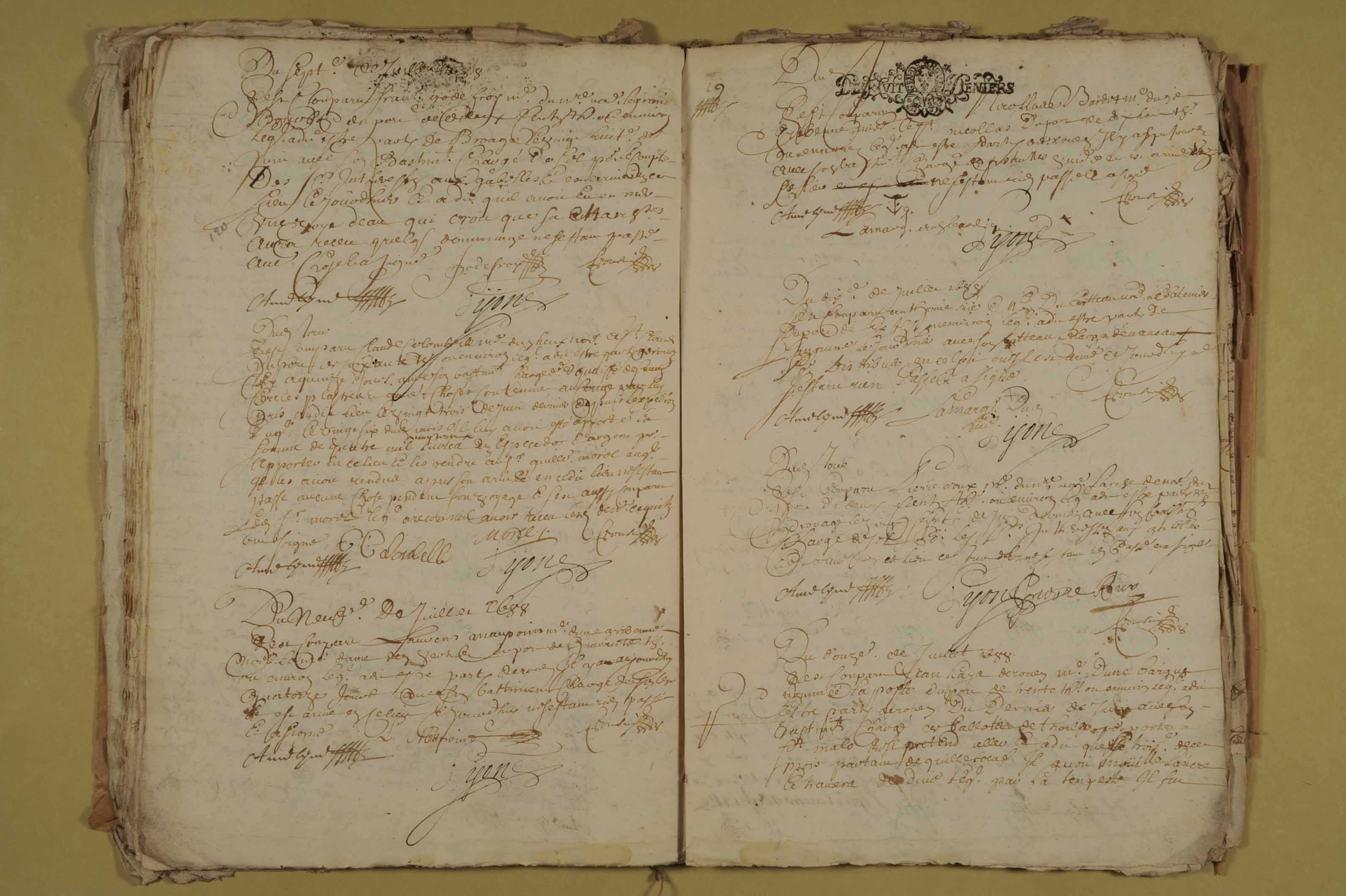 23 mars-1er décembre 1688