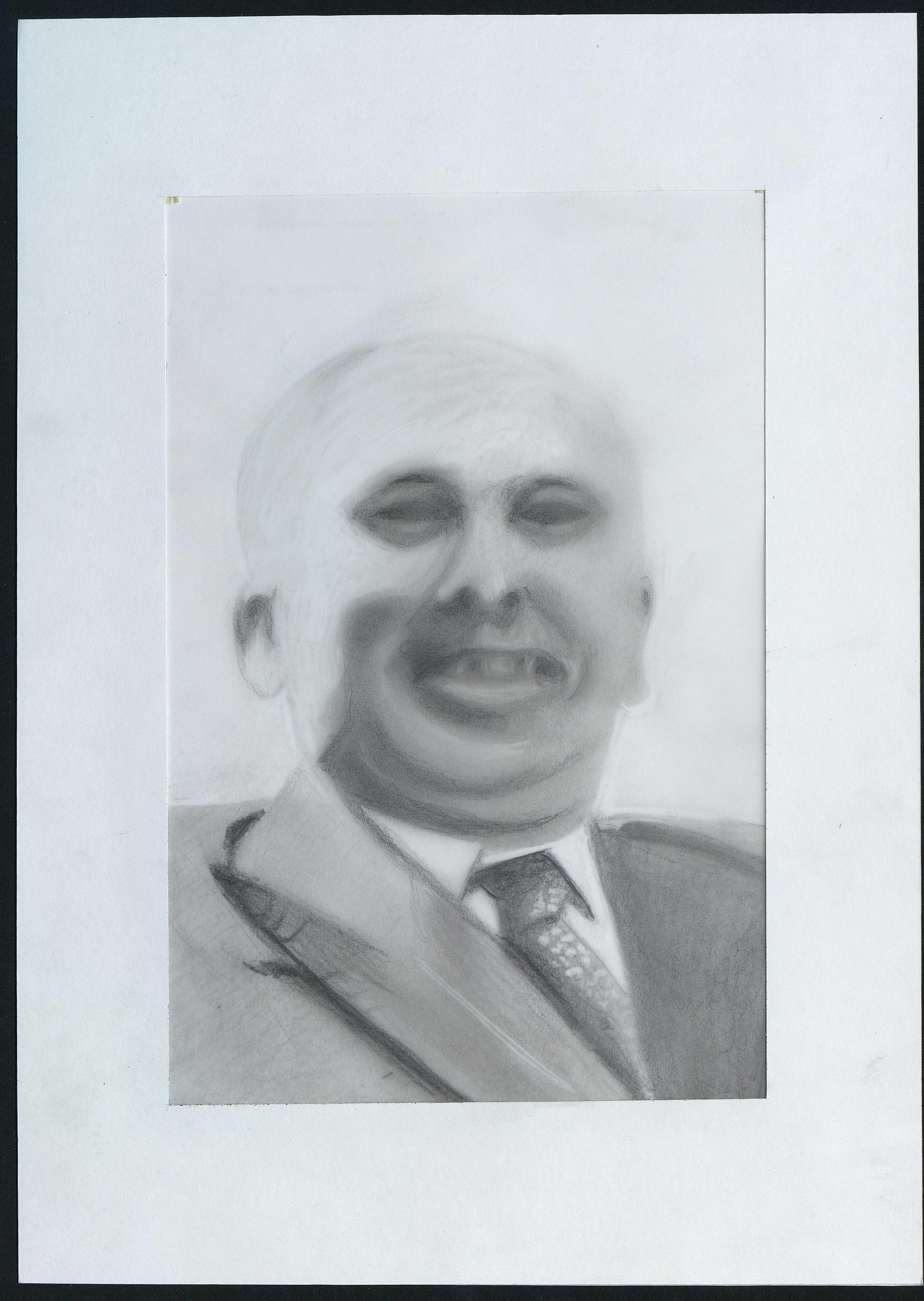 10 : portrait de Paul Derrien par Gratien Mouget