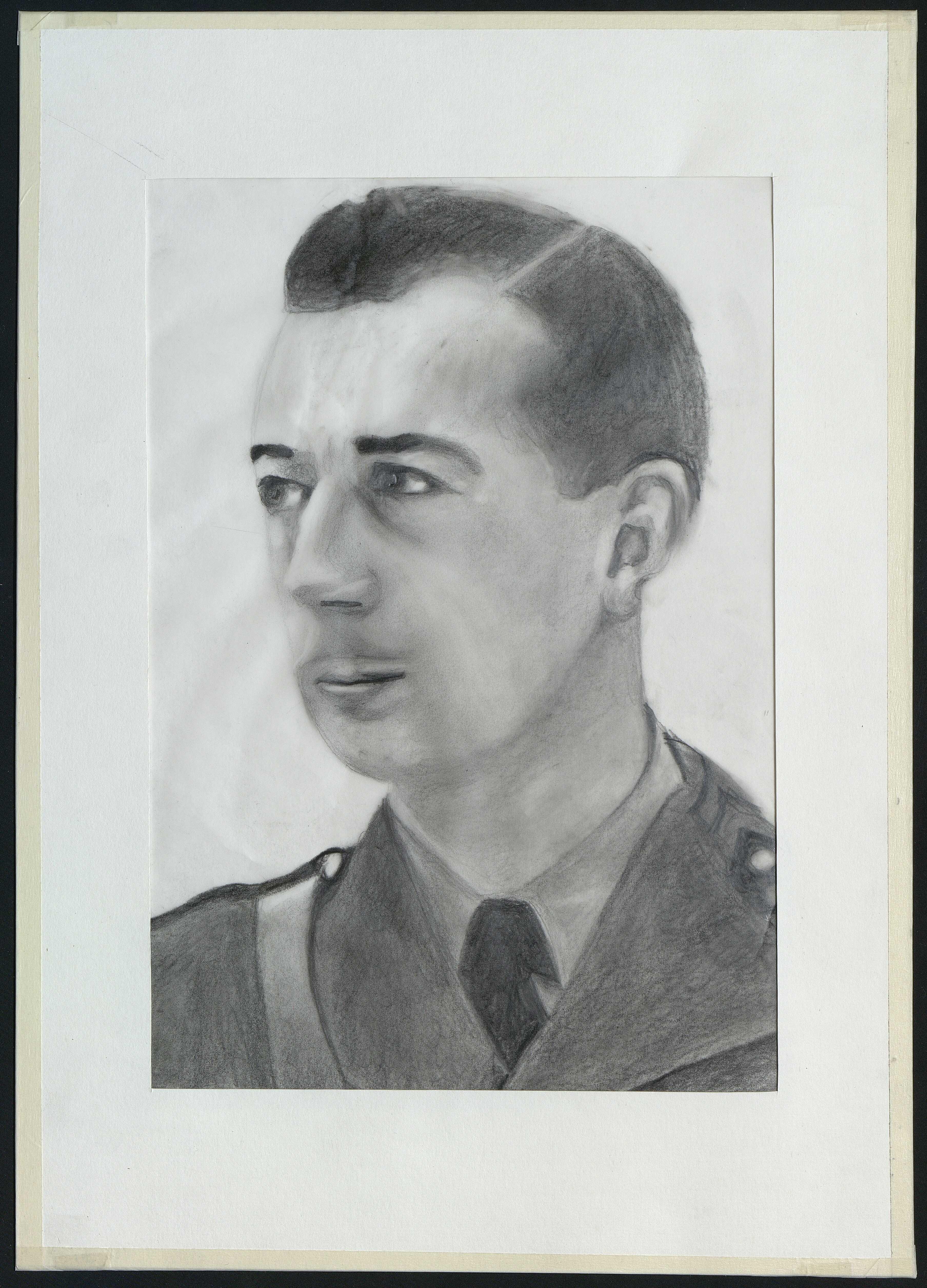 6 : portrait de Jean-Michel Cauchy par Gratien Mouget