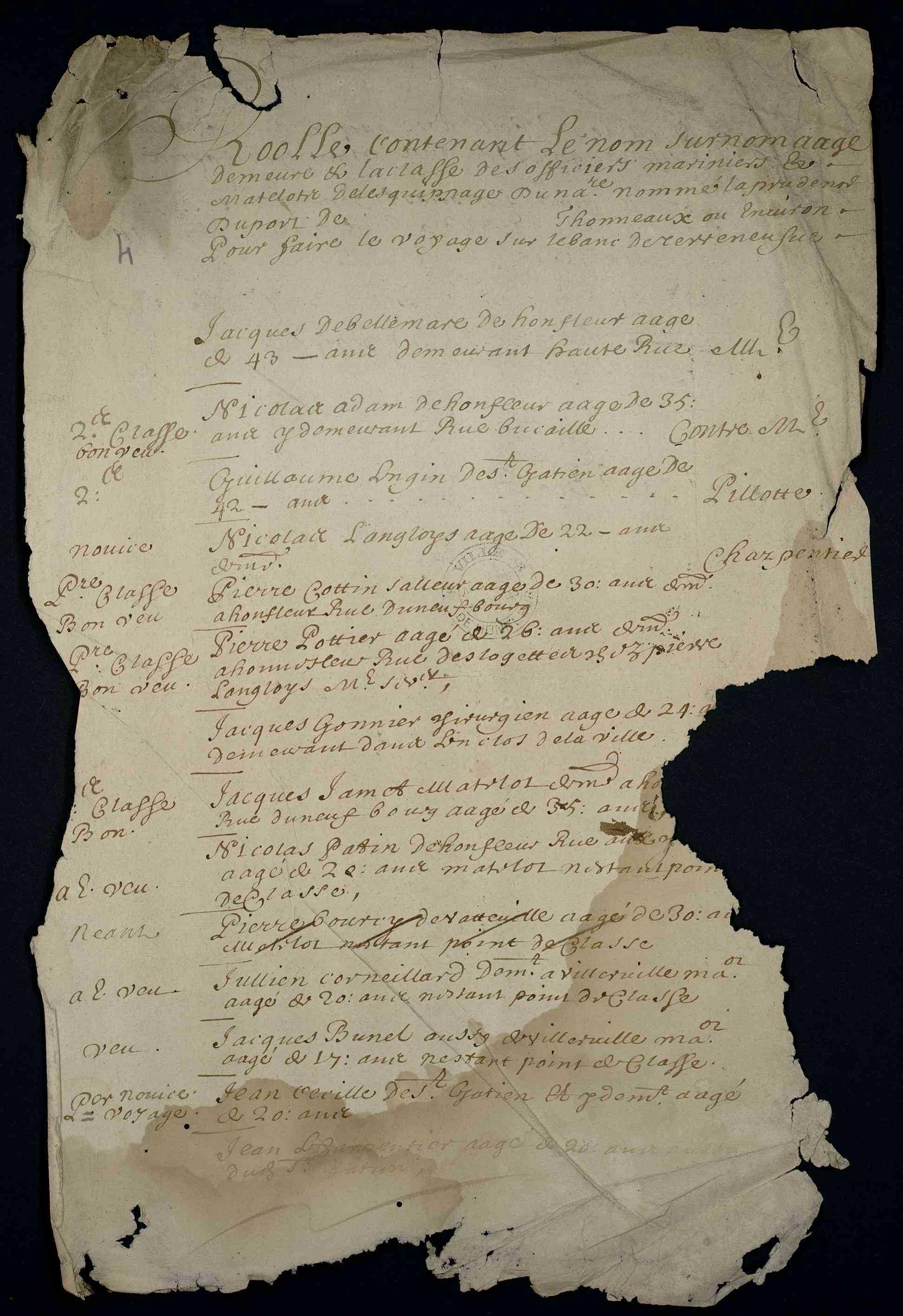 janvier 1682