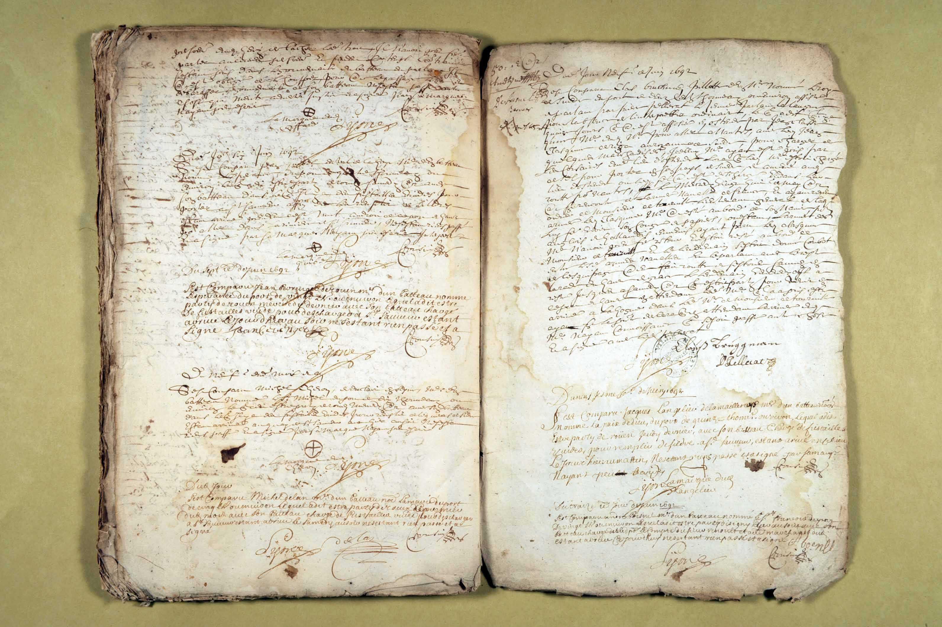 2 janvier 1691-25 juin 1692
