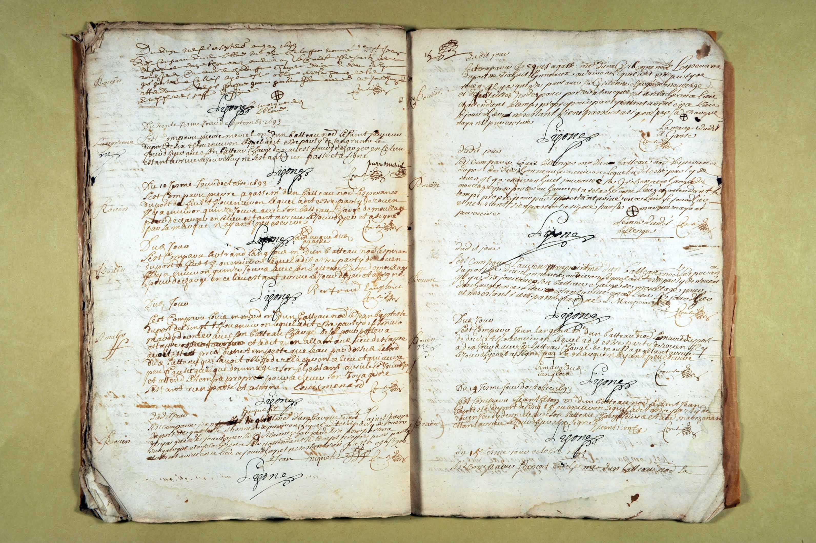 26 mai-23 novembre 1693