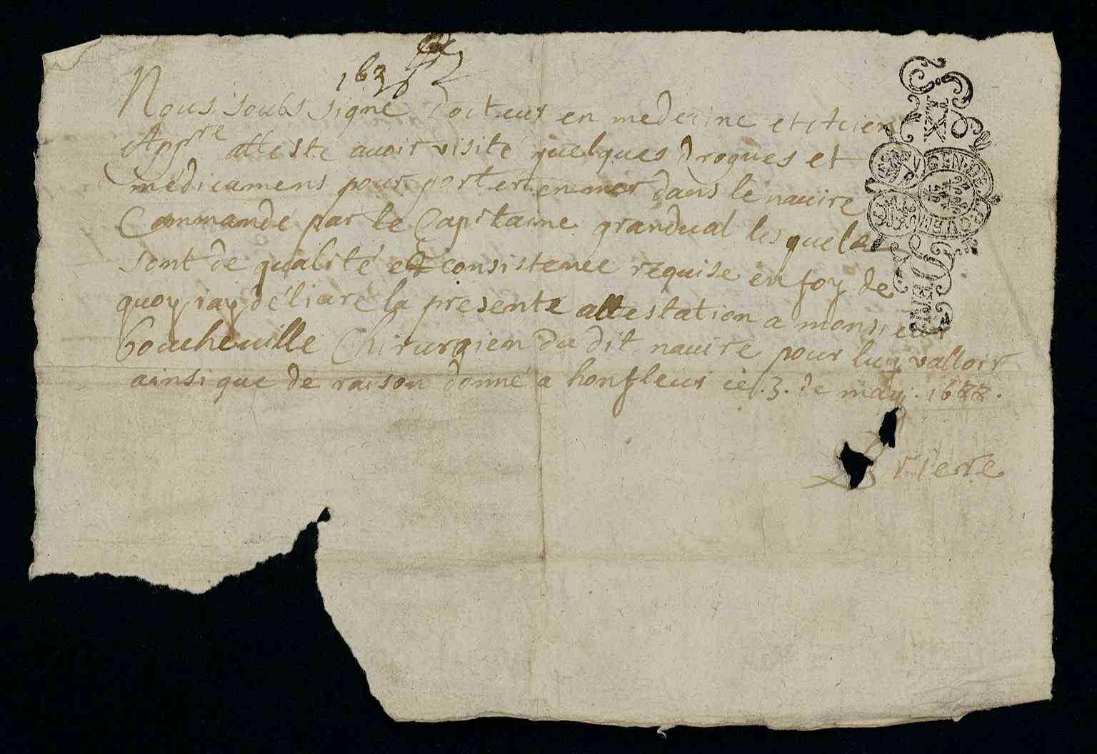15 mai 1688-16 mai 1688