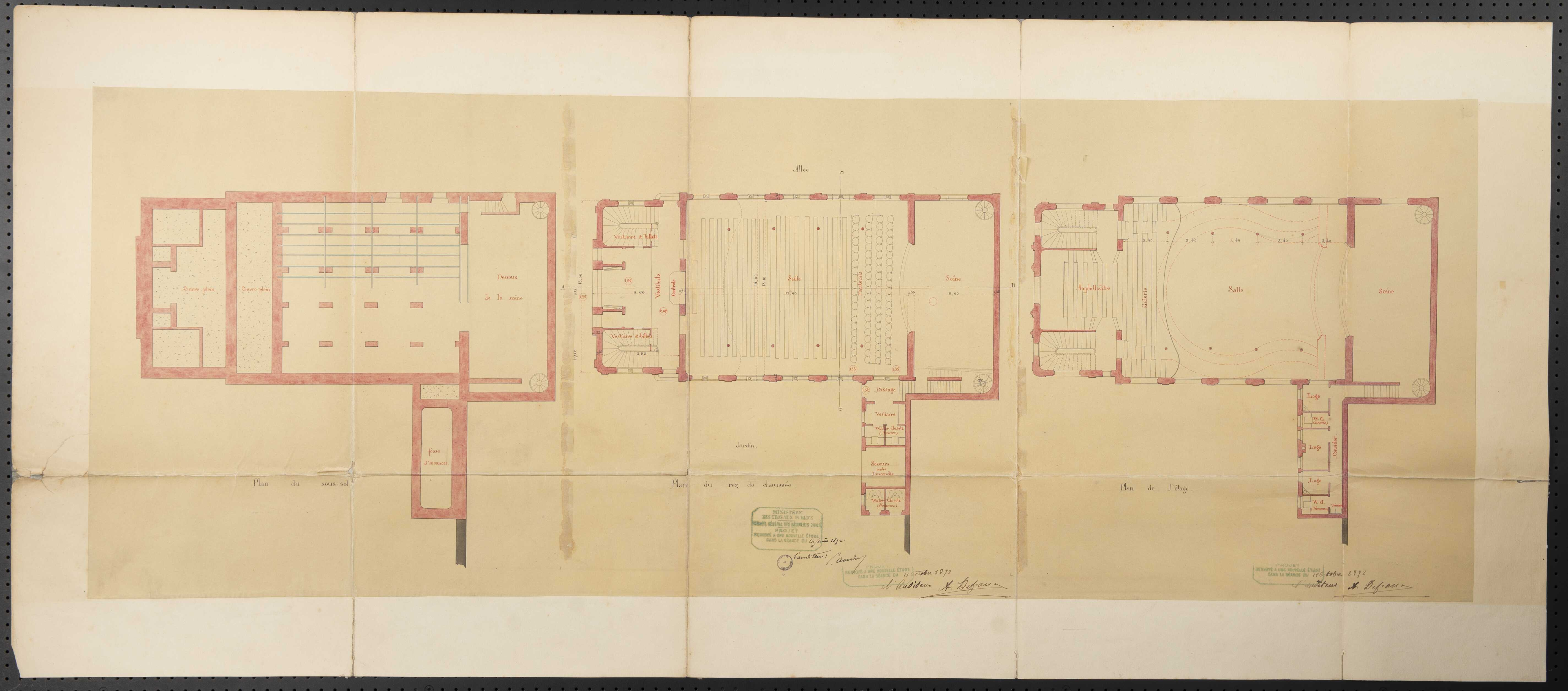 Plans d'extension et d'aménagement de la ville de Lisieux, élaboration