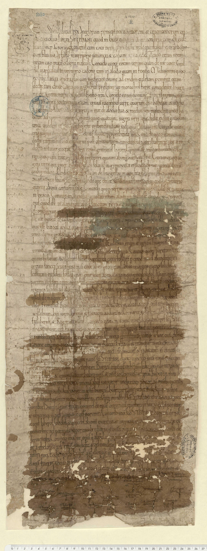 Donations de Guillaume à l'abbaye Saint-Etienne de Caen