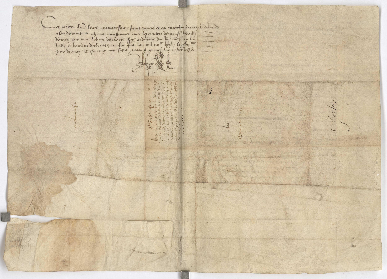 Lettres parentes de Louis XI sur la foire