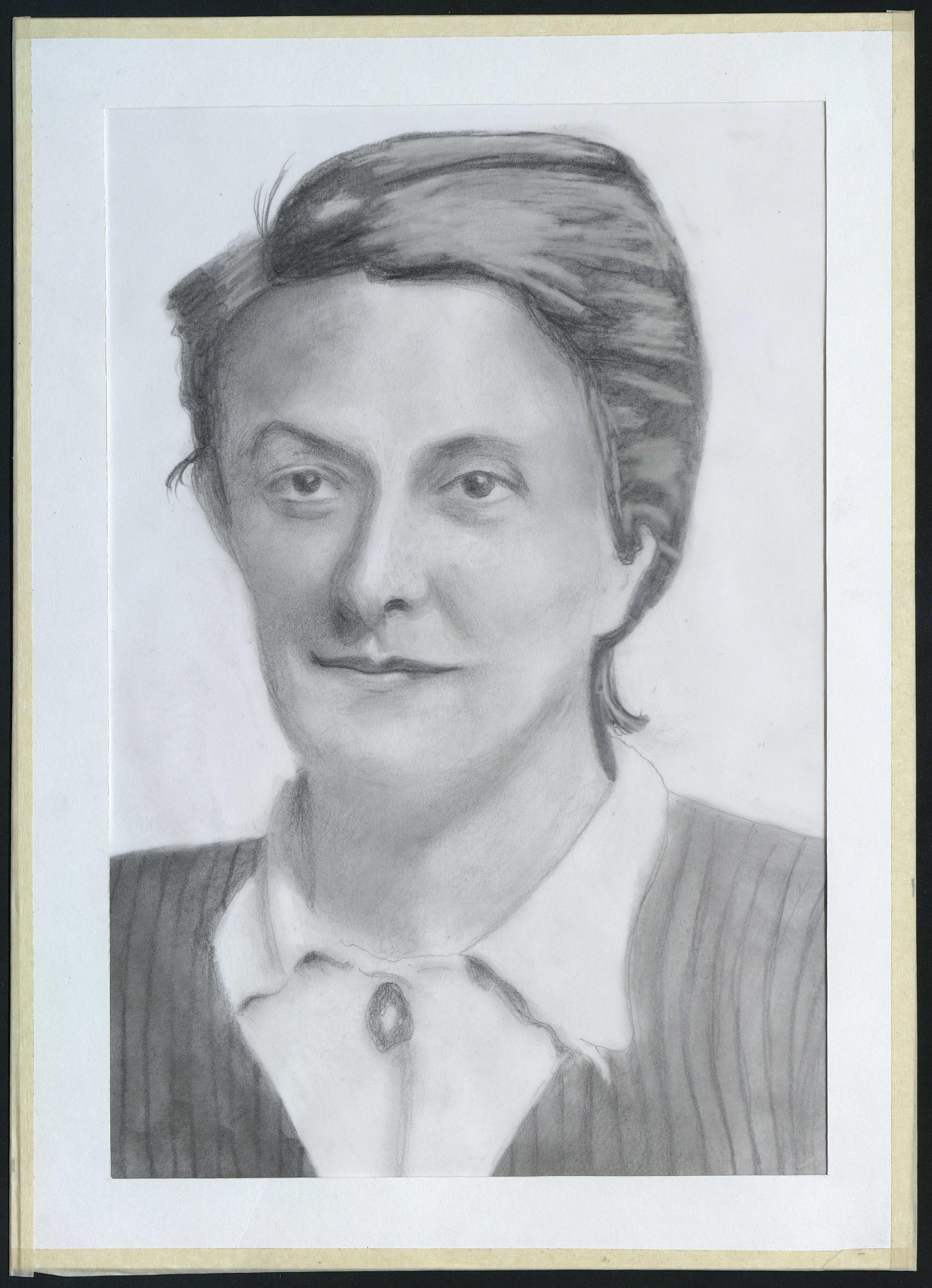3 : portrait de Gaëtane Bouffay par Gratien Mouget