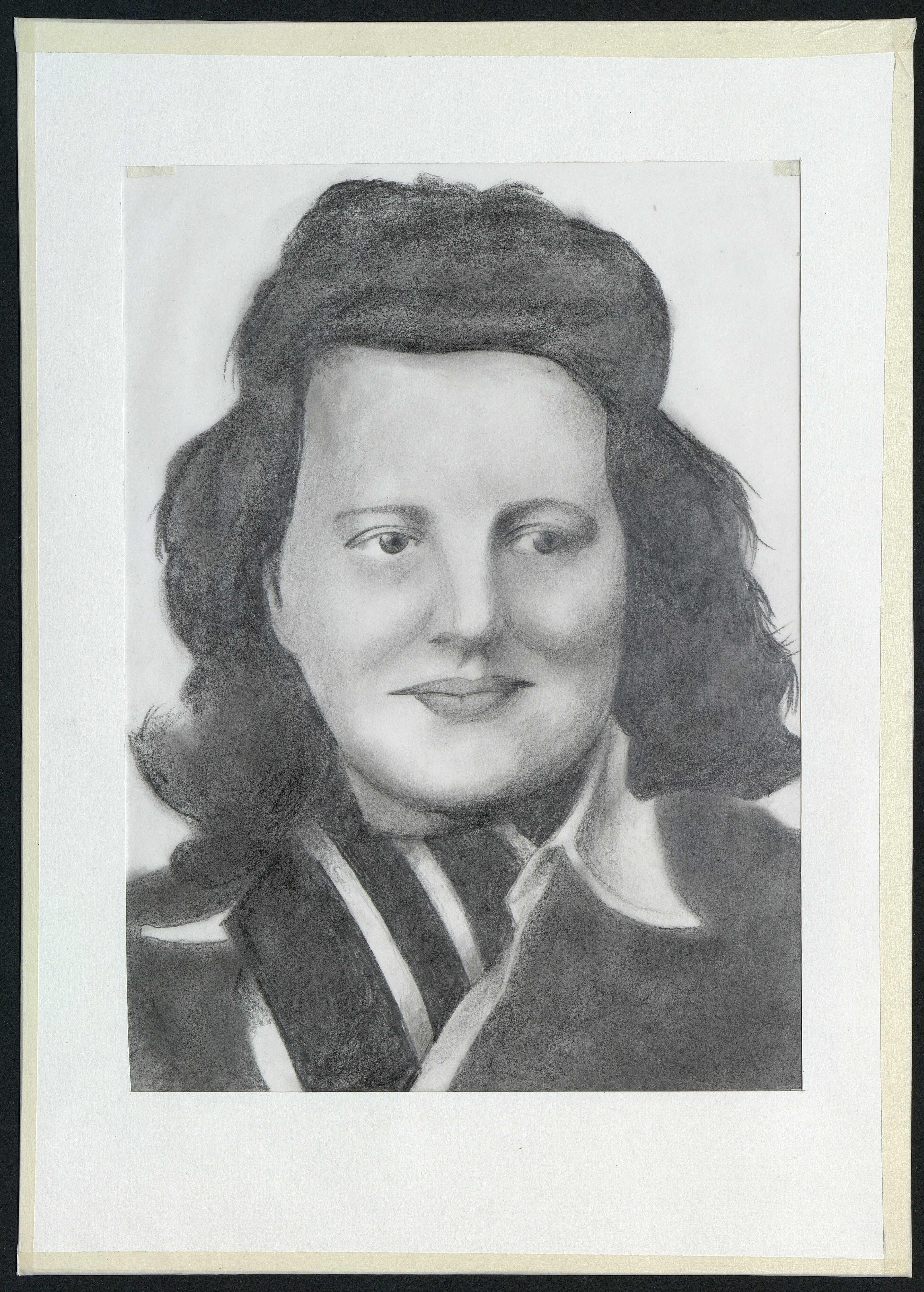 7 : portrait de Marie Cauchy par Gratien Mouget