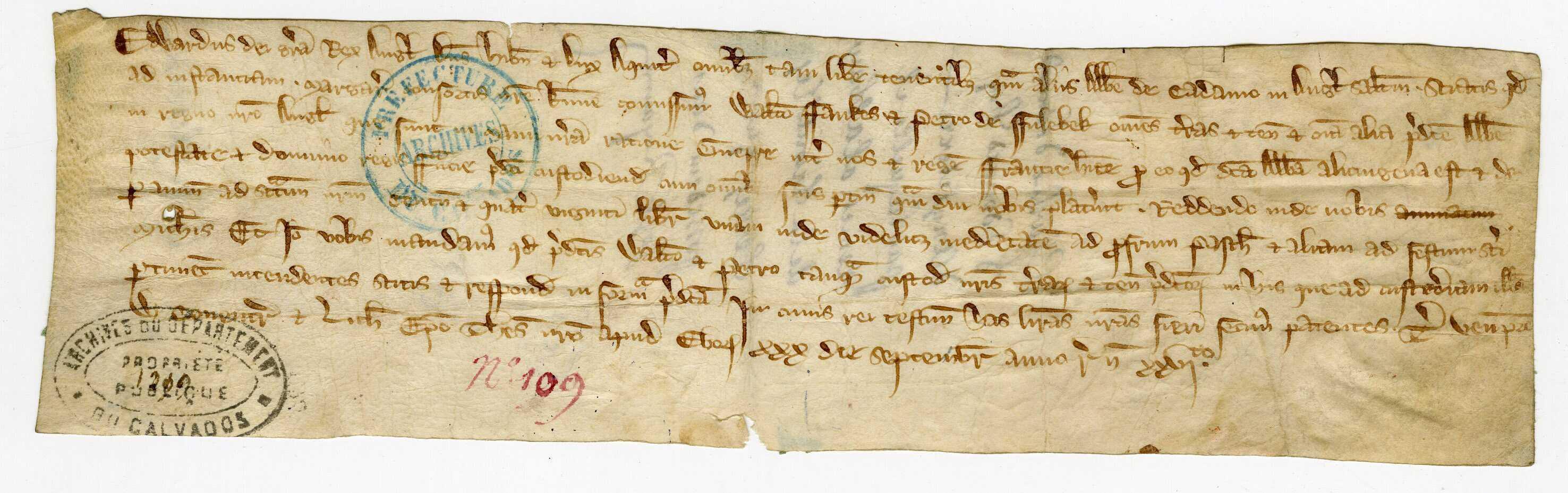 Édouard remet l'abbaye les terres qu'elle possède dans son royaume