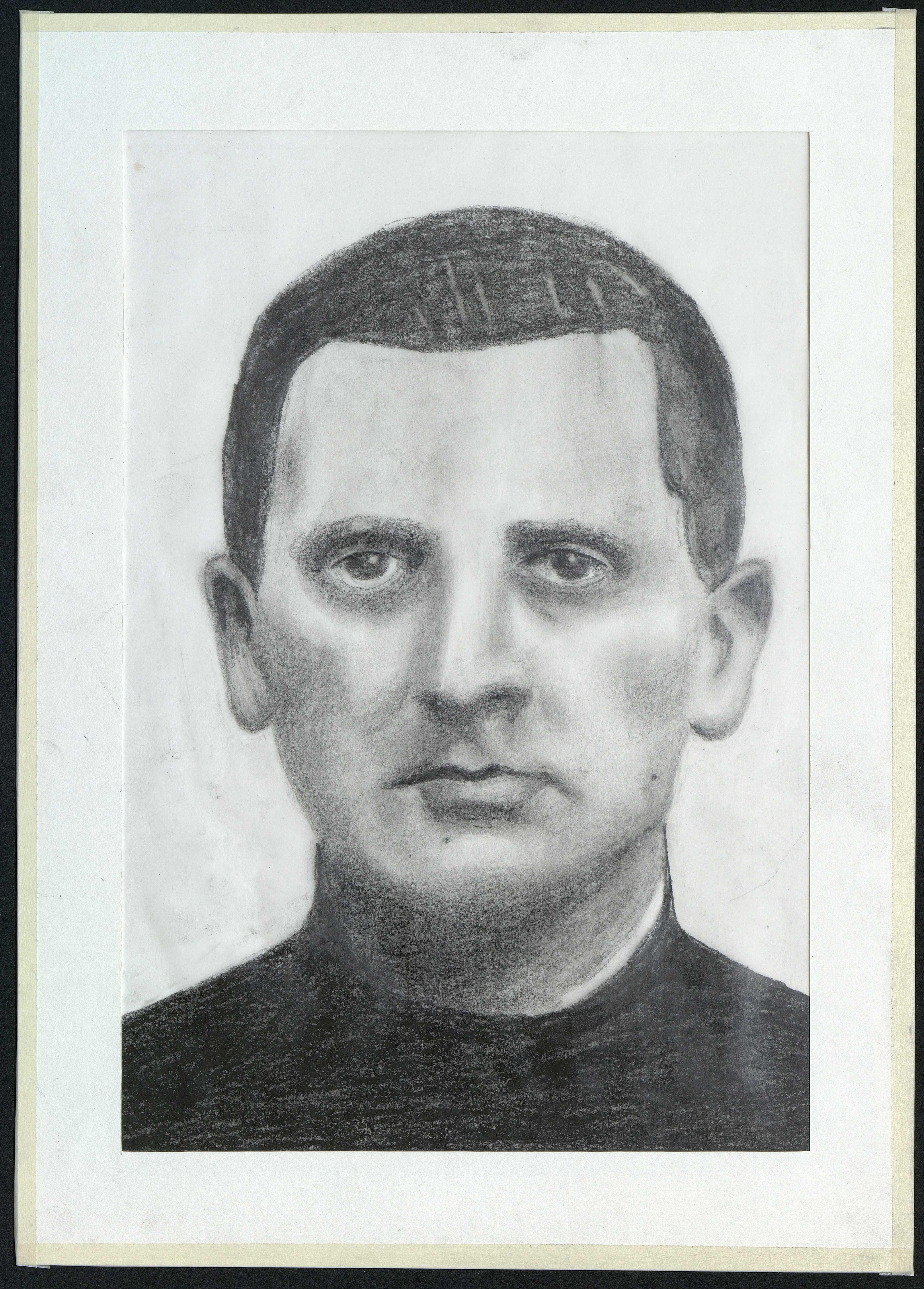 8 : portrait de Jean Daligault par Gratien Mouget