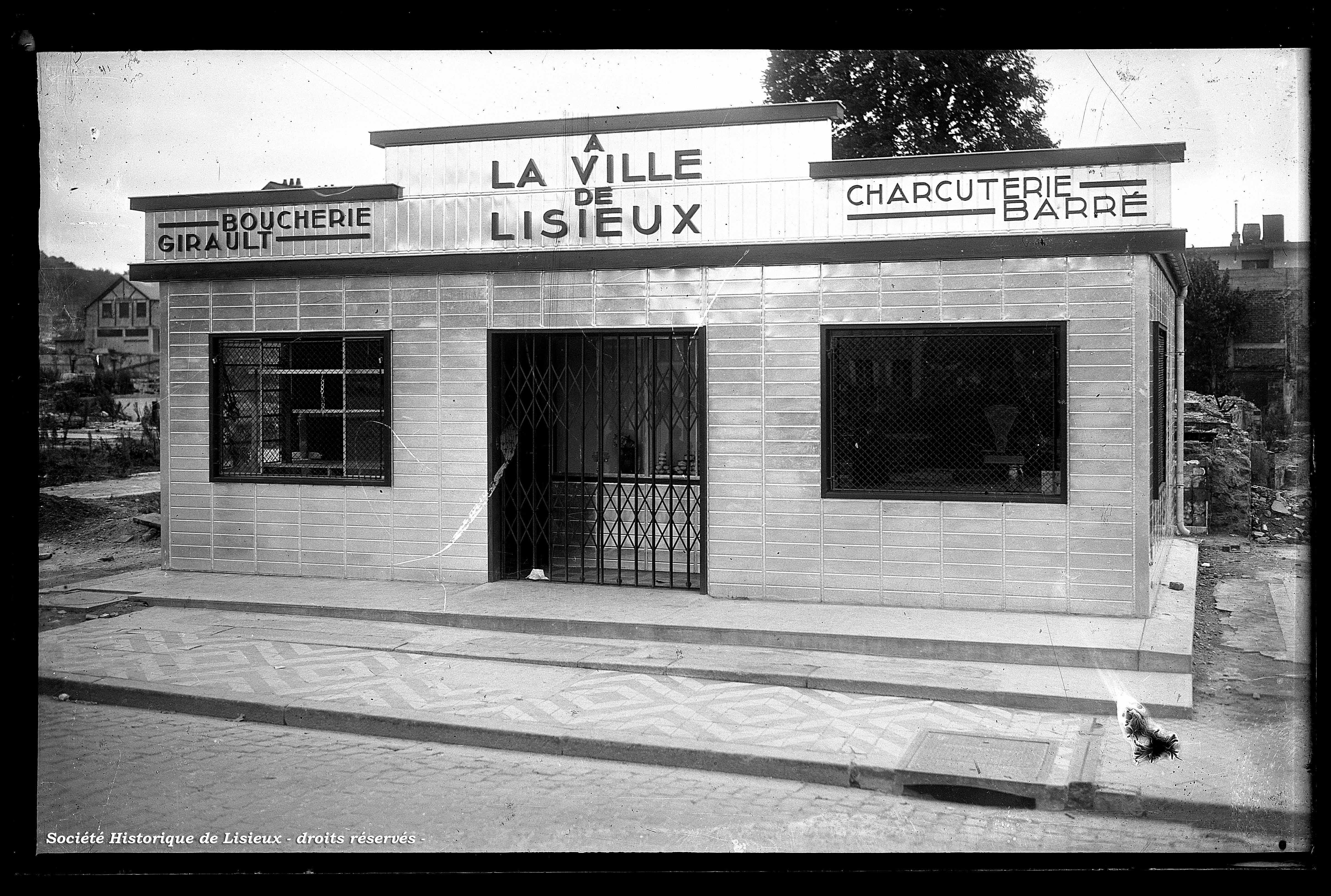 Boucherie et charcuterie place Thiers